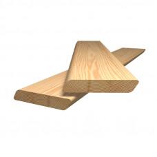 Планкен скошенный (сосна) 140 x 20 x 3000 мм сорт AB